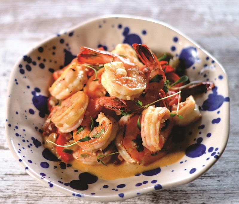 Sujhey Beisser - Shrimp in Coconut Sauce1
