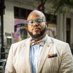 LaVar Charleston, associate dean for diversity and inclusion in the School of Education at the University of Wisconsin-Madison, is pictured on State Street in Madison, Wisconsin on June 29, 2020. (Photo by Bryce Richter / UW-Madison)
